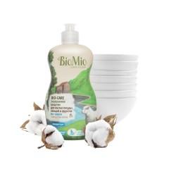 BioMio Средство для мытья посуды, овощей и фруктов Без запаха 450мл