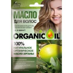Organic Oil Органическое масло для волос Арганы 30мл