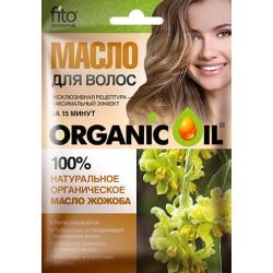 Organic Oil Органическое масло для волос Жожоба 30мл