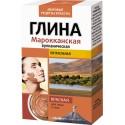 Мировые рецепты красоты Глина Марроканская питательная красная 100г
