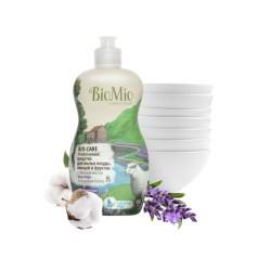 BioMio Средство для мытья посуды, овощей и фруктов с маслом лаванды 450мл