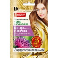 Народные рецепты Масло для волос Репейное против выпадения/стимулирует рост 20мл