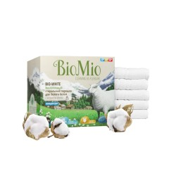 BioMio Стиральный порошок для белого белья 1,5кг
