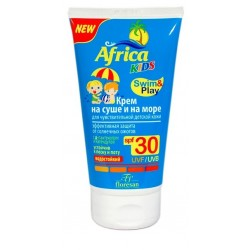 Africa Kids Крем на суше и на море SPF-30 150мл