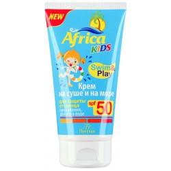 Africa Kids Крем на суше и на море SPF-50 150мл