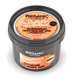 Organic Kitchen Густое мыло для душа для волос и тела увлажняющее Волшебная палочка 100мл