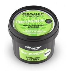 Organic Kitchen Маска-обновление для лица Перезагрузка 100мл