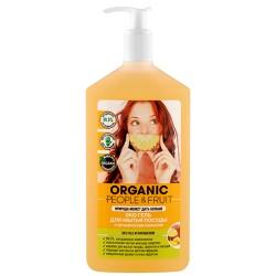 Organic People Fruit Эко гель для мытья посуды Ананас 500мл