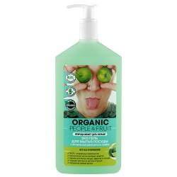 Organic People Fruit Эко гель для мытья посуды Дикая мята/лайм 500мл