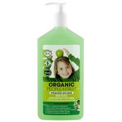 Organic People Fruit Эко гель для мытья посуды Зеленое яблоко/Киви 500мл