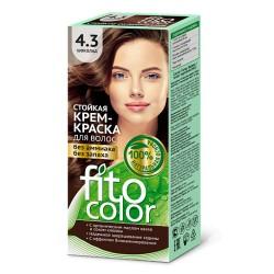 Фитокосметика Стойкая крем-краска для волос Шоколад 4.3