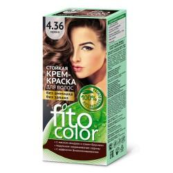 Фитокосметика Стойкая крем-краска для волос Мокко 4.36