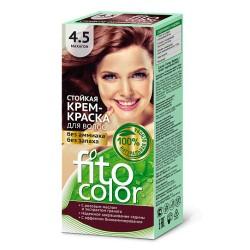 Фитокосметика Стойкая крем-краска для волос Махагон 4.5