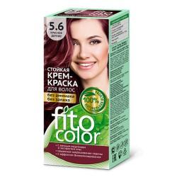 Фитокосметика Стойкая крем-краска для волос Красное дерево 5.6
