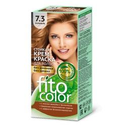 Фитокосметика Стойкая крем-краска для волос Карамель 7.3