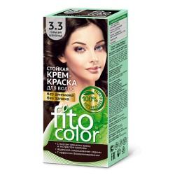 Фитокосметика Стойкая крем-краска для волос Горький шоколад 3.3