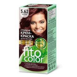 Фитокосметика Стойкая крем-краска для волос Бургунд 5.62