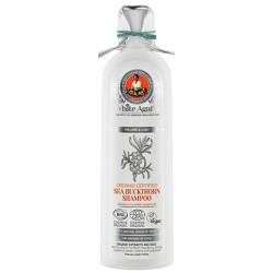 White Agafia Органический шампунь для волос Облепиховый Объем и пышность 280мл