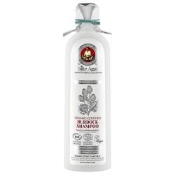 White Agafia Органический шампунь для волос Репейный Укрепление и блеск 280мл