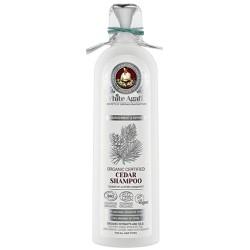 White Agafia Органический шампунь для волос Кедровый Питание и восстановление 280мл