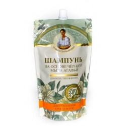 ТСА Шампунь для укрепления и роста на основе черного мыла (дой-пак) 500мл
