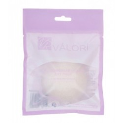 Valori конжаковый спонж с экс шелком д/всех типов кожи