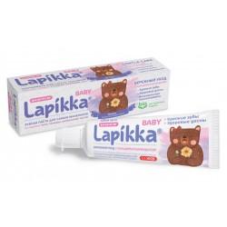 Lapikka baby Детская зубная паста Бережный уход +0 45г