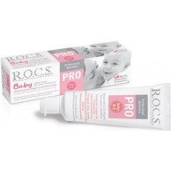 ROCS Детская зубная паста Baby Pro минеральная защита 0-3лет 45г
