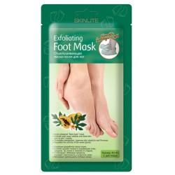Skinlite Маска-носки отшелушивающая для ног размер 40-45 1пара