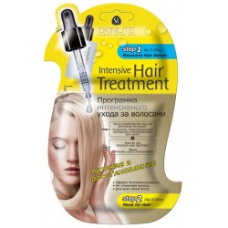 Skinlite Программа интенсивного ухода за волосами Питание и восстановление 8г+15г