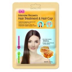 Skinlite Маска-шапочка для волос 2в1 Интенсивное восстановление 20г+шапочка