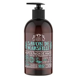 Planeta Organica Savon Натуральное мыло для рук и тела Марсельское мыло 400мл
