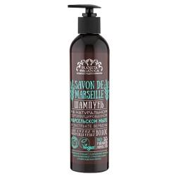 Planeta Organica Savon Шампунь для волос на Марсельском мыле д/сухих/повреж волос 400мл