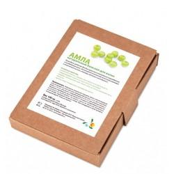 Мыльные орехи Натуральный бальзам для волос Амла (порошок Emblica Officinalis) 100г