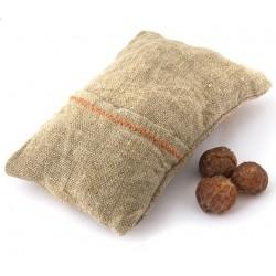 Мыльные орехи Натуральная мочалка изо льна с мыльными орехами (трифолиатус)