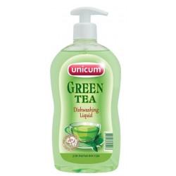 Unicum Средство для мытья посуды зеленый чай 500мл