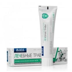 Dies Зубная паста Лечебные травы профилактика кариеса и воспаления десен 100мл