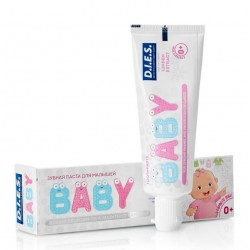 Dies Baby Детская зубная паста Липа 0+ 35г