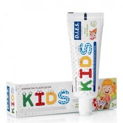Dies Kids Детская зубная паста Фруктовое мороженое 3+ 45г
