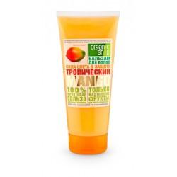 Organic Shop Fruit Бальзам для волос Тропический манго Сила цвета и защита 200мл