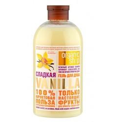Organic Shop Fruit Гель для душа Сладкая ваниль 500мл