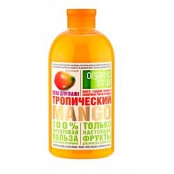 Organic Shop Fruit Пена для ванн Тропический манго 500мл