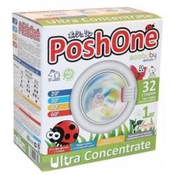 Posh One Стиральный порошок для детского белья и деликатных тканей 1кг
