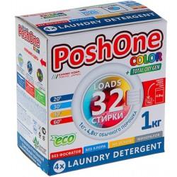 Posh One Стиральный порошок для цветного белья 1кг