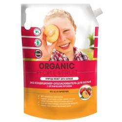 Organic People Fruit Эко кондиционер-ополаскиватель для белья Персик (дой-пак) 2л