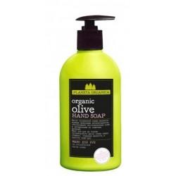 Planeta Organica 5 масел Мыло для рук на органическом масле Оливы 500мл