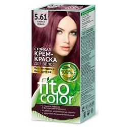 Фитокосметик Стойкая крем-краска для волос Спелая вишня 5.61