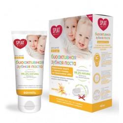Splat Детская биоактивная зубная паста Ваниль и щетка-напальчник 0-3лет