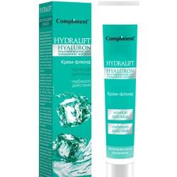 Compliment Hydralift Крем-флюид для лица ночной обновление клеток и увлажнение 50мл