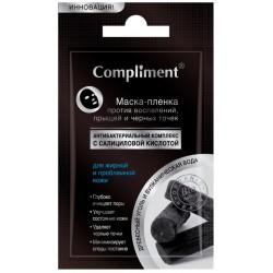 Compliment No Problem Маска-пленка для лица от прыщей и черных точек 9г
